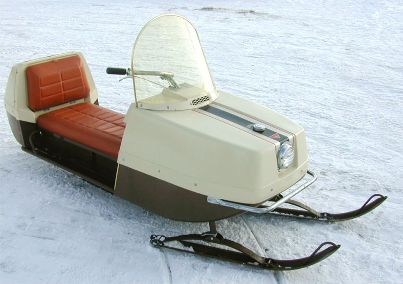 Beautiful old snowmobiles on pinterest snowmobiles for Vintage sleds